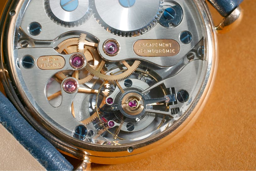 Escapement Desmodromic Back