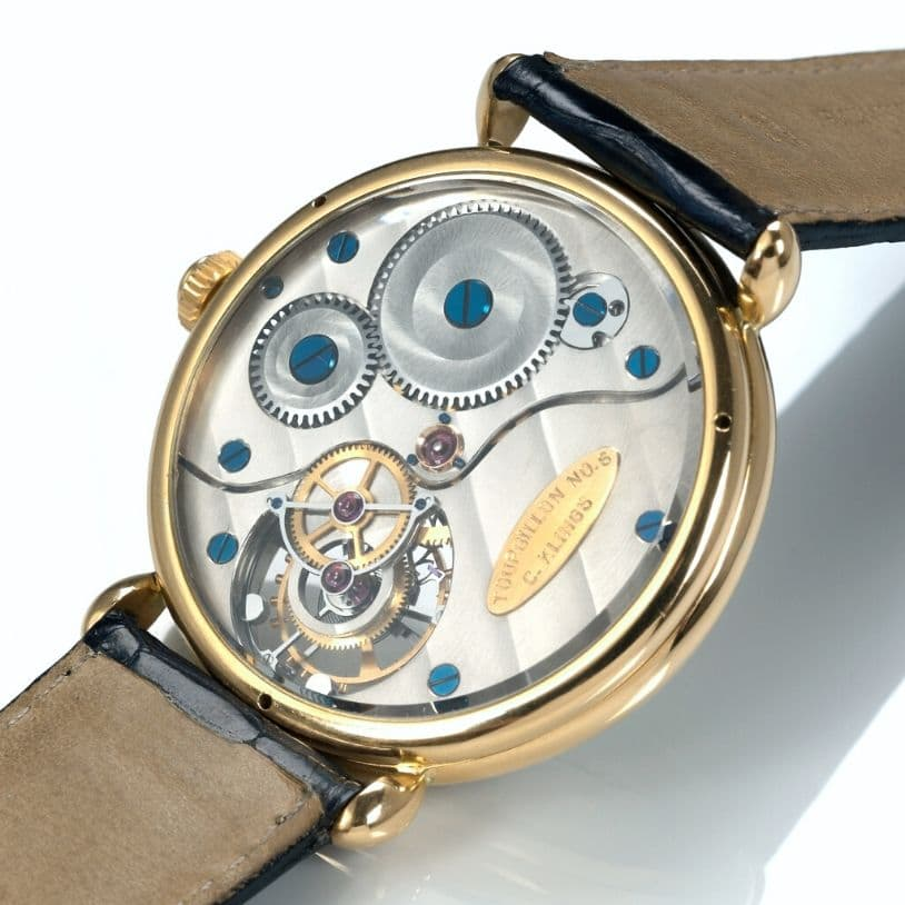 Tourbillon No. 6 Back