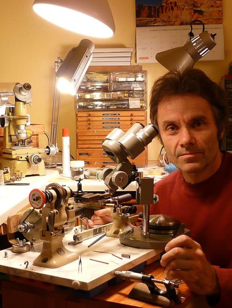 Christian Klings Watchmaker Portrait